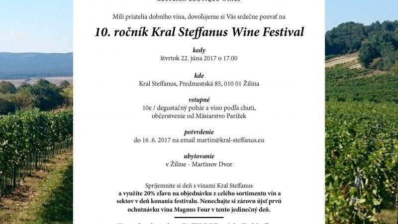 wine festival Kral Steffanus 2017